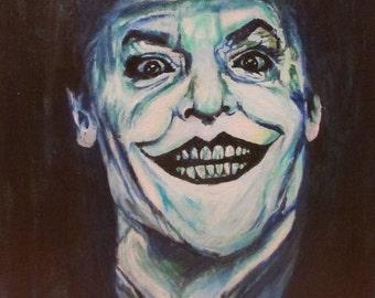 """Portrait of Jack Nicholson """"Joker"""""""