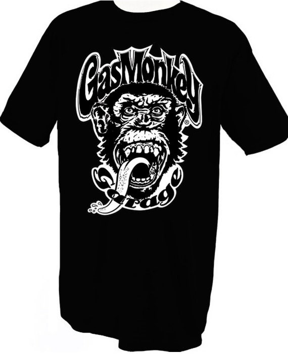 Gas monkey garage t shirt for T shirts with company logo