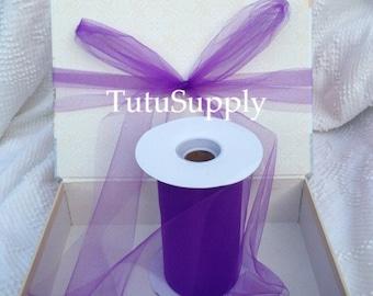 Purple Tulle Roll, tulle roll, tulle fabric, tulle spool, tutu supply, wholesale tulle, tulle rolls, tutu fabric, tutu supplies