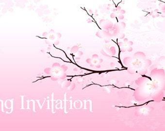 Chequebook Style Invitations