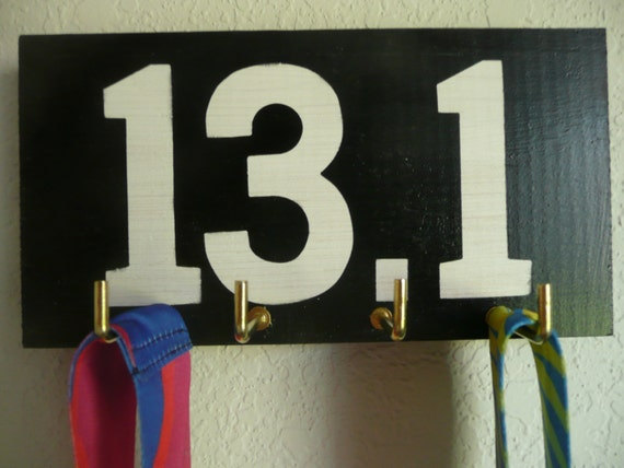 Running Medal Holder - 13.1 - Half Marathon