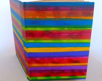 hand bound hard cover hand painted photo book album