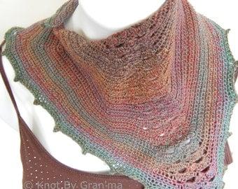 Manta Ray Scarflette Crochet Pattern Digital File