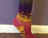 Reincarnation Sock Pattern - pdf delivery