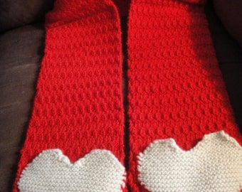 Heart Pocket Scarf Pattern Only