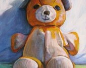 "SALE! 9""x12"" Custom Toy Portrait Acrylic on Canvas"