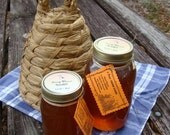Pint jar of Raw Florida Honey