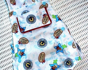 Boys Retro Style Romper size 6-9 months