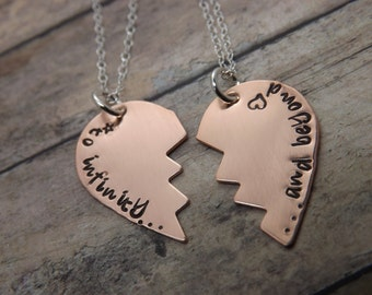 Purity necklace-Handstamped-personalized necklace-true love waits-best friends-sterling silver-copper-purity