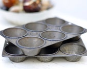 vintage mini muffin tins