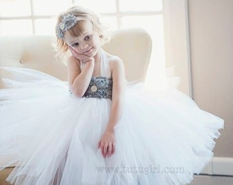 Flower Girl Tutu Dress, Custom Flower Girl Dress Design Your Own