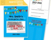 Teacher Appreciation Printable Book Pages - Teacher Appreciation Gift - Room Mom Teacher Appreciation Activity