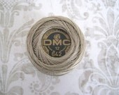 DMC 642 Dark Beige Gray Perle Cotton Thread Size 12