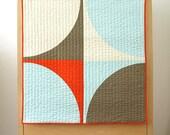 Modern Quilt - Baby Quilt - POP