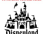 Disneyland Castle vinyl decal, sticker - NEW