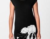 My Star Wars AT-AT Pet - American Apparel T Dress, Geek Dress ( Star Wars T Shirt Dress )