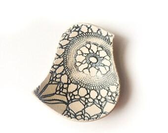 SALE Blue bird wedding ring dish Artisan English ceramic pottery ring bearer bowl Something Old Something new Something Blue Engagement gift