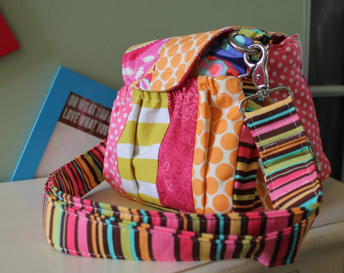 Patchwork Padded Camera Bag by Watermelon Wishes