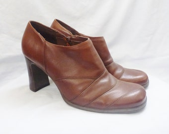vintage HILLARD & HANSON ankle boots. ankle boots. booties. 9 1/2. ITALY