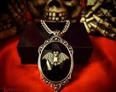 Custom Bat Necklace // Bat Jewelry // Gothic Necklace