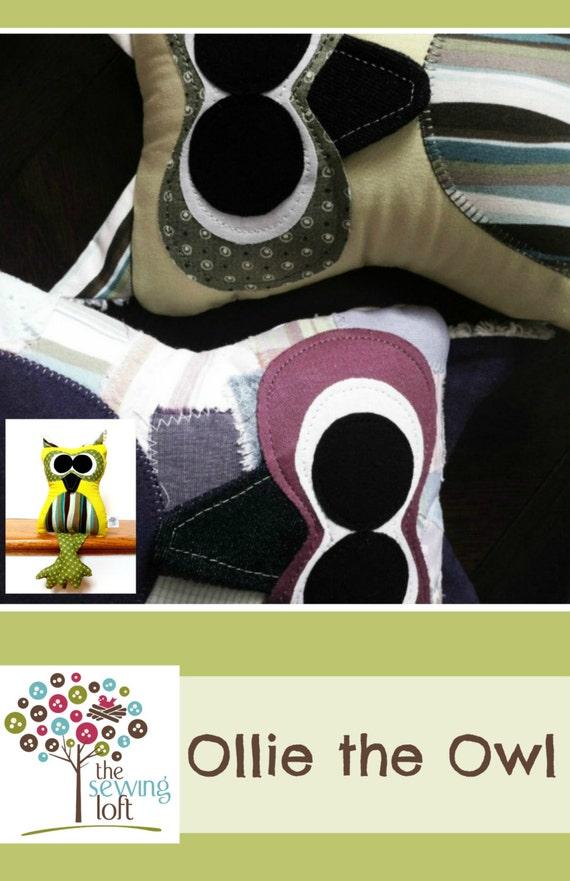 Ollie the Owl Pattern -PDF File