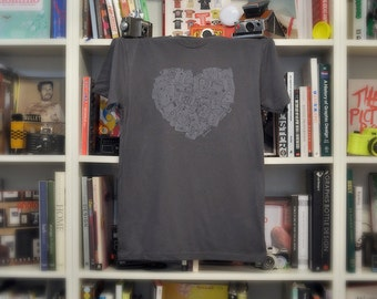 The Luv Tee - Charcoal Grey - Men's (Limited Sizes Available)