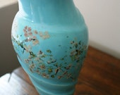 Blue Vase with Blossoms