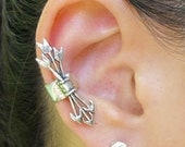 Silver Ear Cuff Quiver And Arrows Ear Cuff Silver Arrow Jewelry Gift for Her Non Pierced Earring Silver Arrow Earrings Boho Jewelry Gypsy