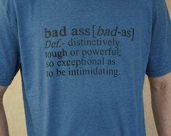Men's Badass T Shirt - Badass Definition
