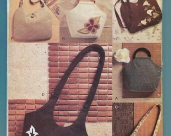 Vogue 634 Handbags Sling Purse Tote Sewing Pattern UNCUT