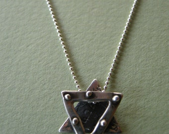 Studded Star Necklace