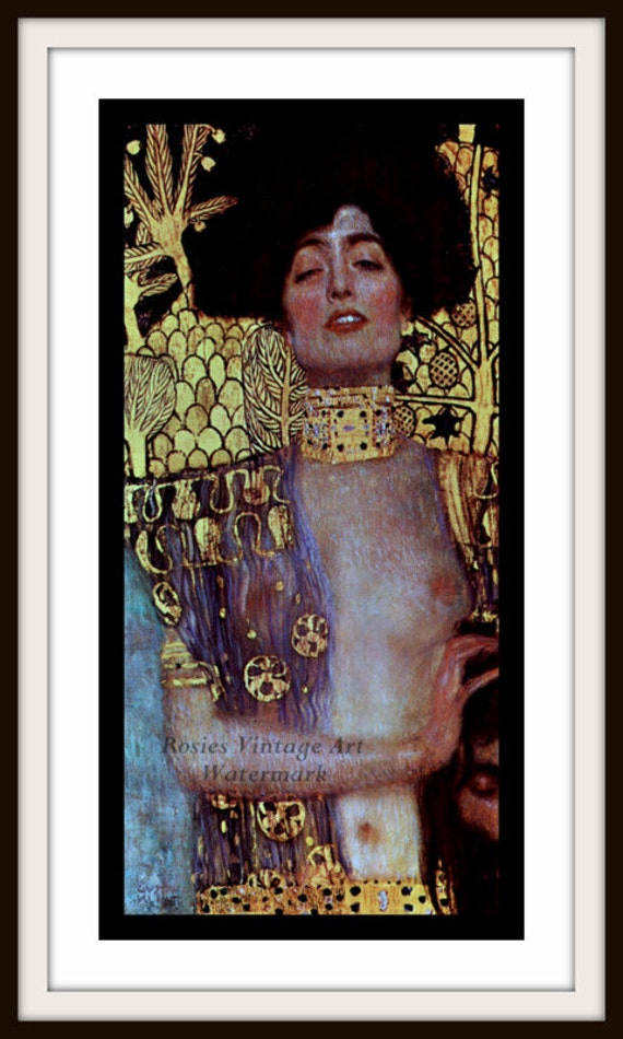 Klimt Judith I - Art Nouveau Giclee Fine Art Print - Gustav Klimt Print