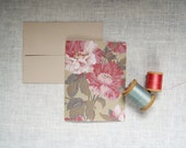 Peony Garden note cards set of six