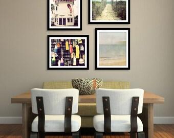 Save 20%, Beach Photography Set , Nautical Home Decor, Four 8x10 fine art prints, New England Cape Cod Photography, Ocean Photos