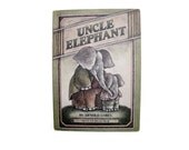 Uncle Elephant by Arnold Lobel, 1981 First Edition HC, I Can Read Book