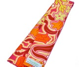 Fabric Camera Strap Cover Padded -- Amy Butler Disco Flowers  -- Ready To Ship