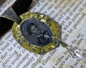A Handsome Lad Victorian Mourning Necklace