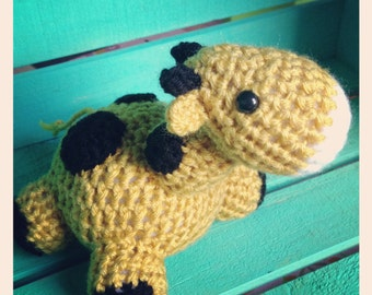 Crocheted Baby Giraffe- Pudgies Collection