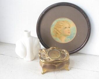 Antique Jewelry Casket, Trinket Box