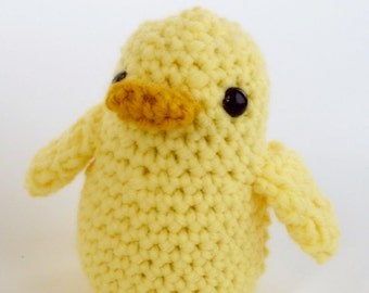 Crochet Ducky Duckling - Amigurumi - You Choose Color