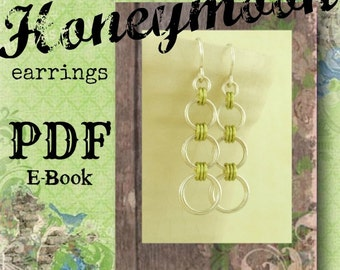 Honeymoon Chainmaille Earrings PDF - Basic Instructions