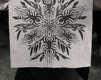 Wattle Portal Hemp/Organic Cotton Patch