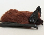 RESERVED for Leah Swindler - Big Brown Bat pin