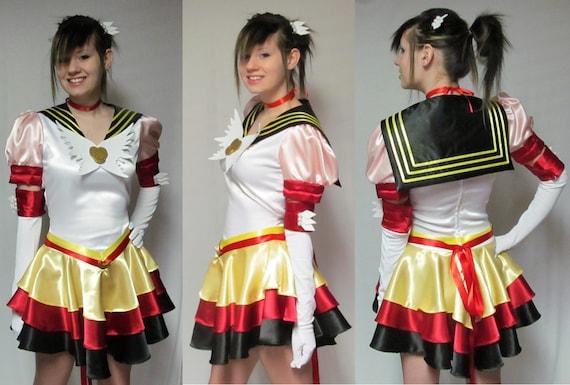 Eternal Sailor Moon Costume Cosplay Adult Women's Size 4 6 8 10 12 14