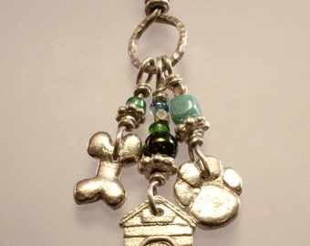 Dog Lover Charms Pendant