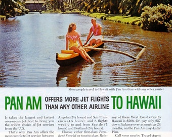 Pan Am to Hawaii