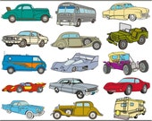 Digital Clipart Vehicles (31) PNG