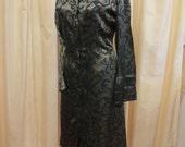 RESERVED Vintage Von Troska Australian Designer Long Sleeve Shirt Dress Sydney