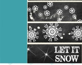 Let it Snow Overlays