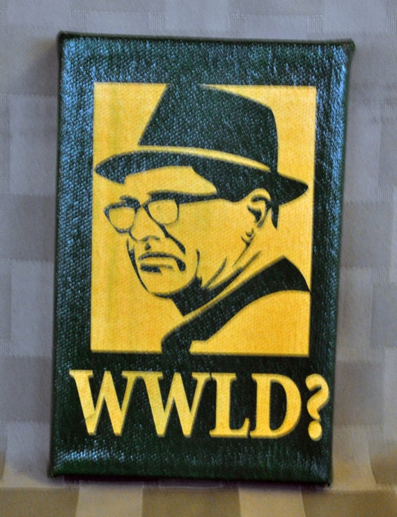 Wwld Green Bay Packer Inspired Art Expressive Art On Canvas Wall Decor For Dorm Bedroom